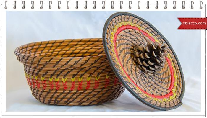 Плетение из сосновой хвои
