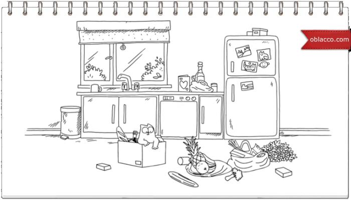 Simon's Cat Valentines, продолжение банкета