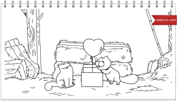 Simon's Cat. A Valentines Special