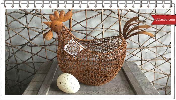 Курочка-корзинка плетеная из бумажных трубочек. МК