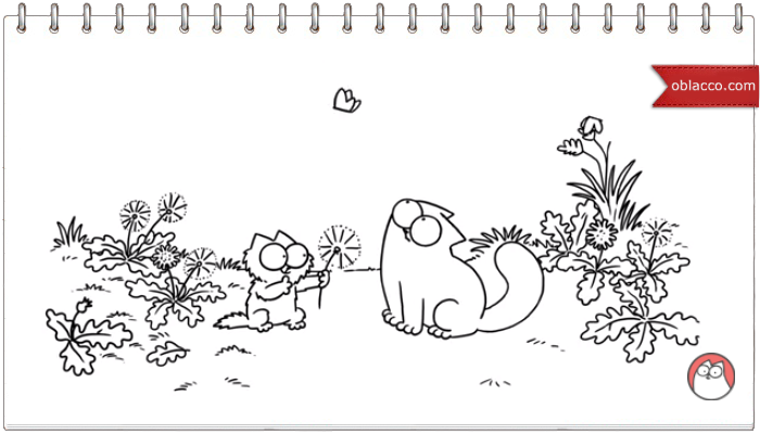 Simon's Cat. Весна