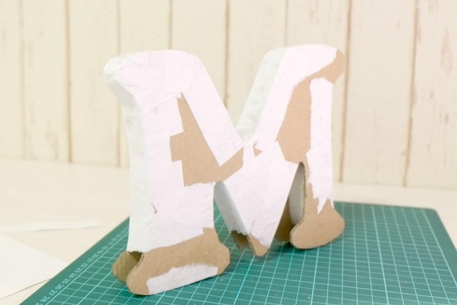 Объемные буквы своими руками из картона схема 415