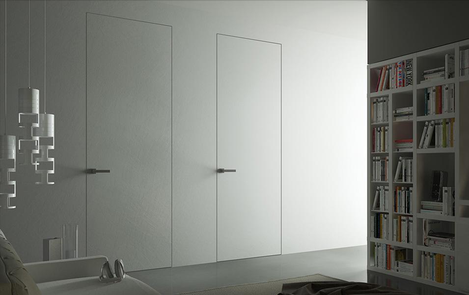 скрытая дверь под обои
