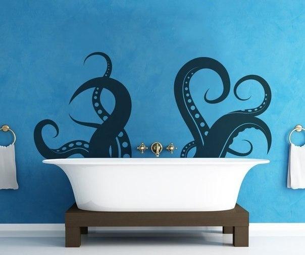 виниловые наклейки для ванной