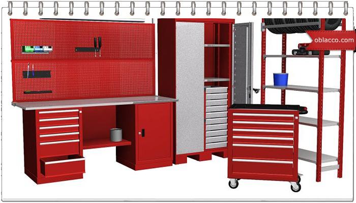 Металлическая мебель для мастерской и не только