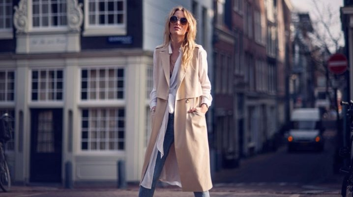 пальто без рукавов 2018