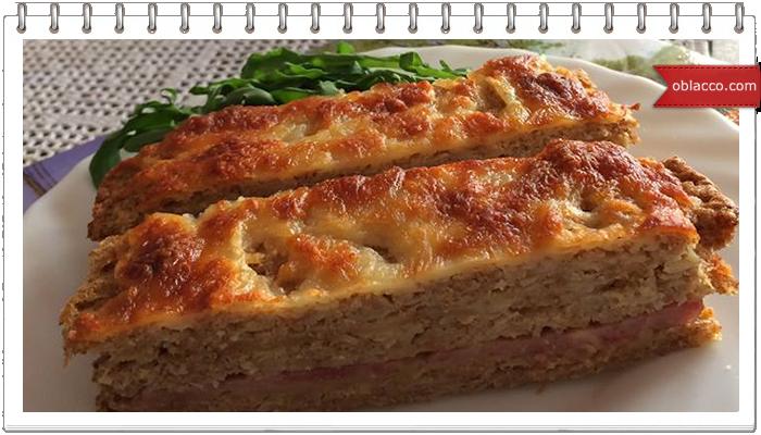 Пирог с коржами из цветной капусты