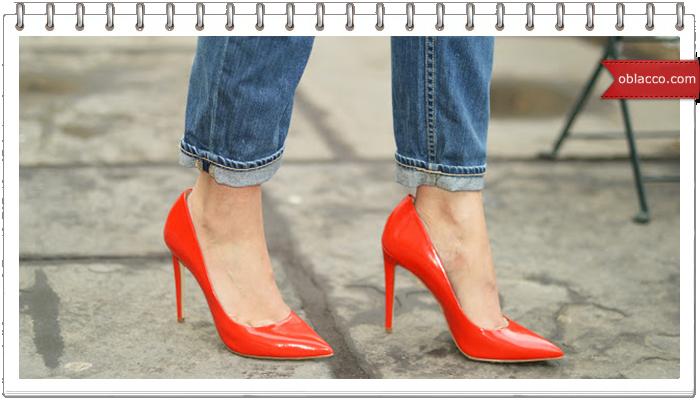 Какую обувь носить с джинсами?