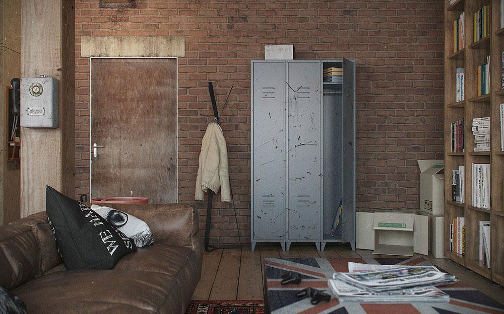Металлические шкафы для рабочей одежды