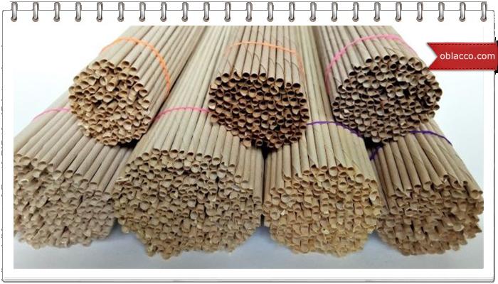 Как равномерно покрасить трубочки для плетения