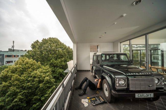 гараж балкон