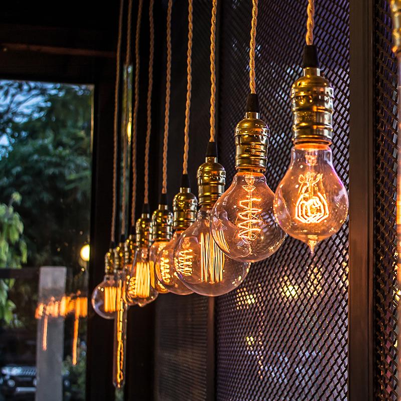 подвесные светильники - лампы