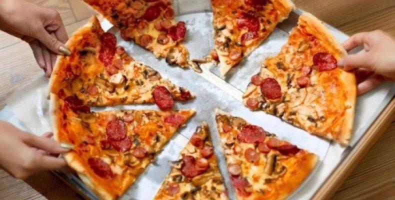 як їсти піцу