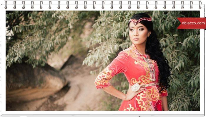 Казахские платья