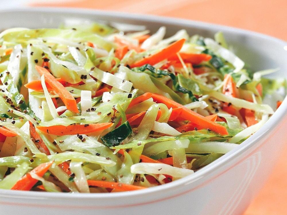 Капустный салат для белковой диеты фото