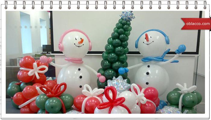 Воздушные шары, новогодняя история