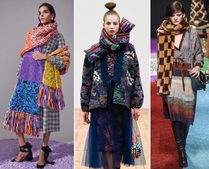 шарфы 2019