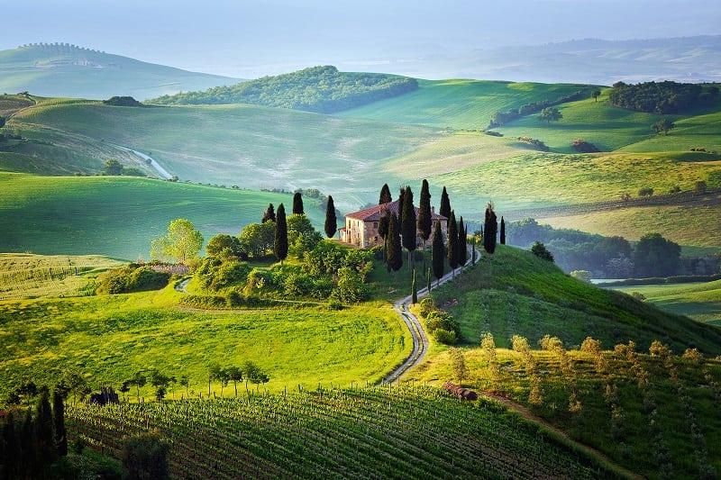 Долина Тосканы