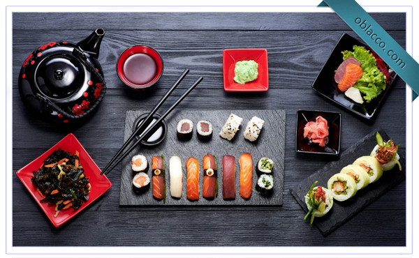 Японская кухня. Суши на Позняках
