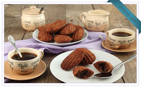 """Постное шоколадное печенье """"Мадлен"""""""