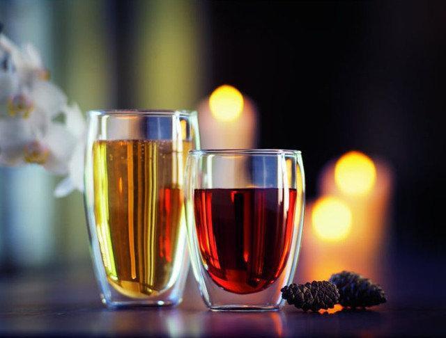 стаканы с двойным дном