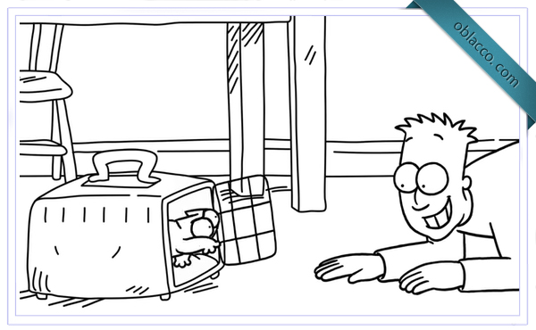 Хотите узнать больше об истории Simon's Cat